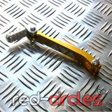 CNC PITBIKE GEAR LEVER - GOLD