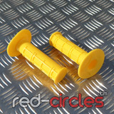 PITBIKE SOFT GRIPS - YELLOW