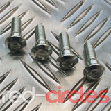 4x M8 SDG PITBIKE BRAKE DISC MOUNTING BOLTS (COLLARED)