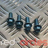 4x M8 PITBIKE SPROCKET MOUNTING BOLTS (HEX HEAD)