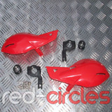 PITBIKE / ATV HAND GUARDS - RED