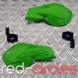 PITBIKE / ATV HAND GUARDS - GREEN