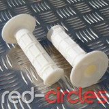 PITBIKE SOFT GRIPS - WHITE