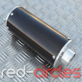 PITBIKE BIG BORE EXHAUST MUFFLER - BLACK