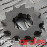 20mm PITBIKE / ATV FRONT SPROCKET - 12 TOOTH / 420 PITCH
