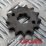 20mm PITBIKE / ATV FRONT SPROCKET - 13 TOOTH / 428 PITCH