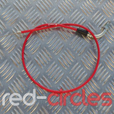 VENHILL ANGLED THROTTLE CABLE - RED