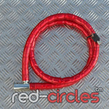 ANTI THEFT SECURITY CHAIN - RED