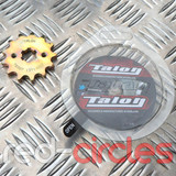 TALON 17mm PITBIKE / ATV FRONT SPROCKET - 13 TOOTH / 428 PITCH