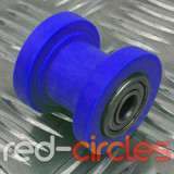 8mm CHAIN ROLLER - BLUE