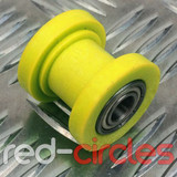 10mm CHAIN ROLLER - YELLOW