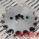 17mm PITBIKE / ATV FRONT SPROCKET - 16 TOOTH / 420 PITCH