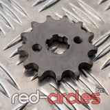 17mm PITBIKE / ATV FRONT SPROCKET - 13 TOOTH / 420 PITCH