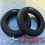 PMT SOFT SLICK SUPERMOTO TYRES (100/90-12 + 120/80-12)
