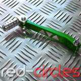 CNC PITBIKE GEAR LEVER - GREEN