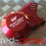 WHOOP (W) RACING PITBIKE STATOR COVER - RED