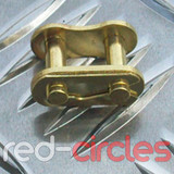 PITBIKE / ATV SPLIT LINK - GOLD / 428 PITCH