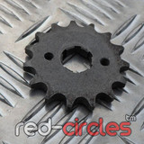 17mm PITBIKE / ATV FRONT SPROCKET - 15 TOOTH / 428 PITCH