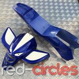 MINI QUAD PLASTIC KIT - PLAIN BLUE
