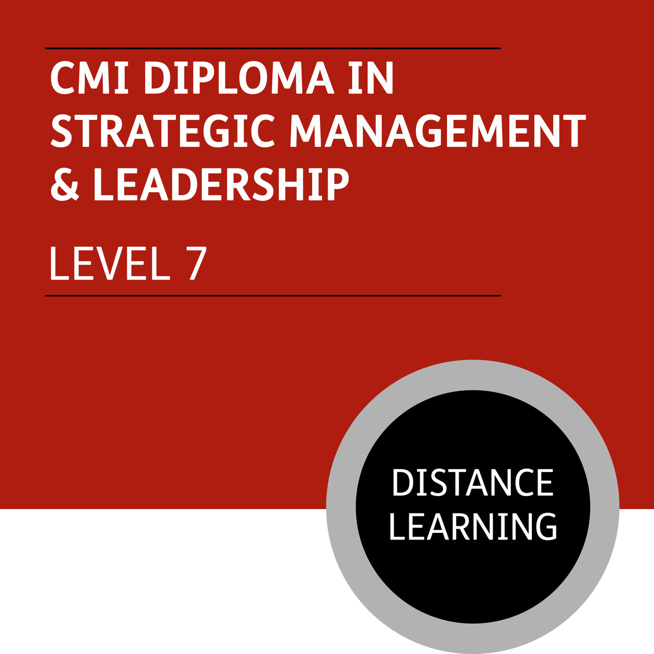 cmi diploma in strategic management and leadership level  cmi diploma in strategic management and leadership level 7 distance learning lite