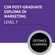 CIM Post-Graduate Diploma in Marketing (Level 7) Stage 1 and 2 - Distance Learning/Lite - CI