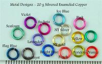 "Silvered Enameled Copper 20 gauge 3/16"" id."