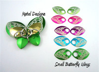 Butterfly Engraved Premuim SMALL Scales -pair