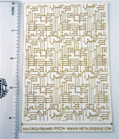 Laser Cut Texture Paper - Rolling Mill Pattern - Circuit Board