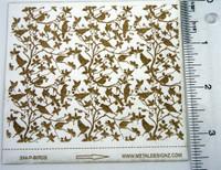 Birds in Branches Laser Paper - Rolling Mill Pattern - Shop Metal Designz