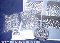 Bright Aluminum Hackey Sac Kit