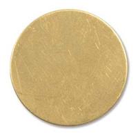 Brass Sheet Round-1.25 inch