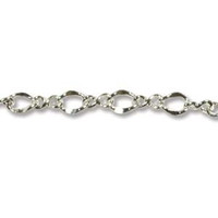 2.00MM FIGURE 8 CHAIN SILVER