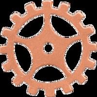 19mm Copper sprocket blanks