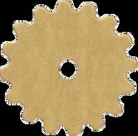 16mm Brass gear blanks