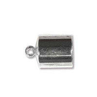 BARREL END CAP 7MM Nickle PLATE