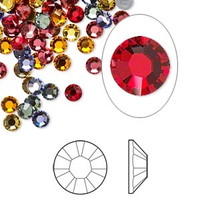Swarovski hotfix crystal rhinestone Heat 4mm