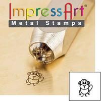 Bongo 6mm ImpressArt Metal Design Stamp
