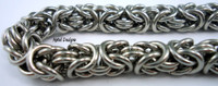 Stainless Steel Byzantine Bracelet Kit