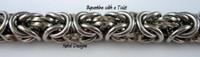 Stainless Steel Byzantine Twist Bracelet Kit