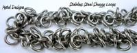 Stainless Steel Shaggy Loops Bracelet Kit