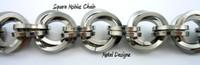 Stainless Steel Square Mobius Bracelet Kit