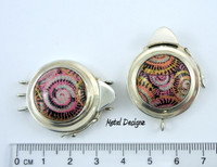 Swirling Dome Box Clasp - Studio Indah