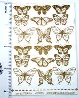 Laser Cut Texture Paper - Butterfly