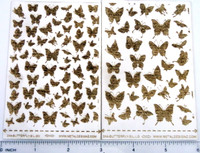 Copy of Laser Cut Texture Paper - Butterfly Silhouette