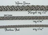 Stainless Steel Vipera Berus Bracelet Kit
