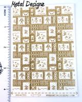Laser Cut Texture Paper - Aztec