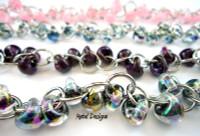 Unicorne Bracelet Kit - Stainless & Lamp Work Beads