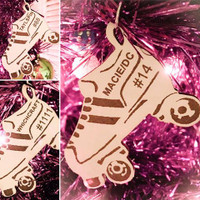 Roller Derby Christmas Ornaments - Personalized for you!
