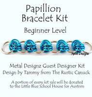Papillion Bracelet Kit - Guest Designer Rustic Canuck