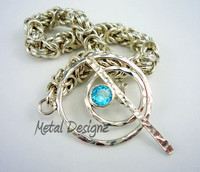 Sterling Silver Byzantine Bracelet Kit - Makes 8 Inches of chain.